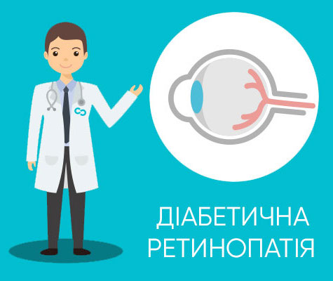 Діабетична ретинопатія полтава